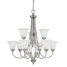Harmony 9 Light Chandelier