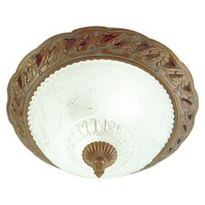 Waverly 2 Light Flush Mount