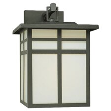 Mission 1 Light Outdoor Narrow Wall Lantern