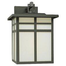 Mission 1 Light Outdoor Narrow Wall Lantern