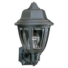 1 Light Plastic Outdoor Wall Lantern