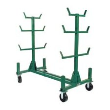"1/2"" X 33 1/2"" Mack Rack I Pipe Stacking Cart With Casters"