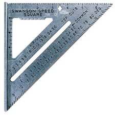 <strong>Swanson Tools</strong> The Original Speed® Squares - die cast aluminum speedsquare w/black gra