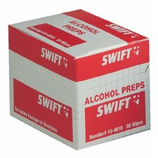 <strong>Swift First Aid</strong> Alcohol Wipes - alcohol wipes 50/bx