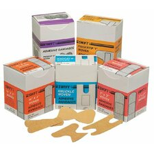 """Adhesive Bandages - 3/4"""" x 3"""" woven strips 100/bx"""
