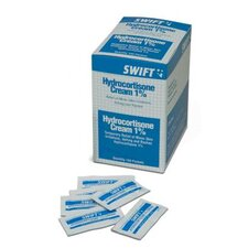 <strong>Swift First Aid</strong> 0.01 Hydrocortisone Cream Foil Pack (144 Per Box)