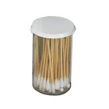 "3"" Non-Sterile Cotton Tip Applicators In Plastic Vial (100 Per Pack)"