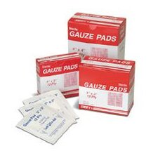 "<strong>Swift First Aid</strong> 3"" X 3"" Sterile Gauze Pads (100 Per Box)"