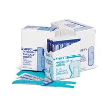 "1"" X 3"" Blue Woven Adhesive Bandages (100 Per Box)"