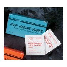PVP Iodine Wipes (100 Per Box)