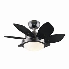 "<strong>Westinghouse Lighting</strong> 24"" Quince 6 Blade Ceiling Fan"