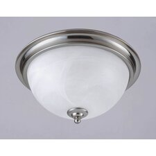 Brandt Point 2 Light Flush Mount