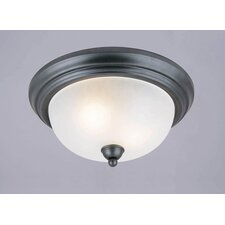 Pine Creek 2 Light Flush Mount