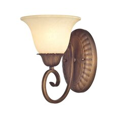 Regal Springs 1 Light Wall Sconce