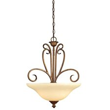<strong>Westinghouse Lighting</strong> Regal Springs 3 Light Pendant