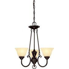 Elena 3 Light Chandelier