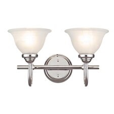<strong>Westinghouse Lighting</strong> Elena II 2 Light Wall Sconce