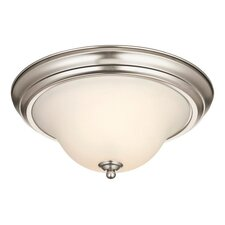 Swanstone 2 Light Flush Mount