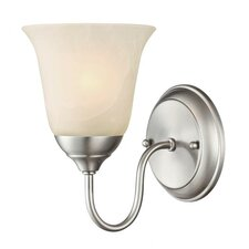 <strong>Westinghouse Lighting</strong> Clinton 1 Light Wall Sconce