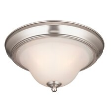 <strong>Westinghouse Lighting</strong> Swanstone 1 Light Flush Mount