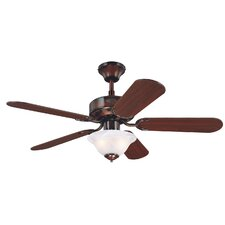 "<strong>Westinghouse Lighting</strong> 42"" Reversible 5 Blade Ceiling Fan"