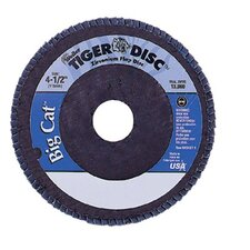 "<strong>Weiler</strong> Big Cat® High Density Flat Style Flap Discs - 4 1/2""tiger disc big catabr flap phenolic bk"