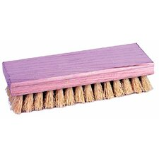 "Hand Scrub Brushes - 8"" Square End Scrub Brush White Tampico"