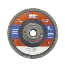 "1/2"" X 7/8"" 36Z Grit Vortec Pro Flap Disc With Phenolic Backing"