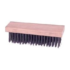 "1/4"" X 7 1/4"" 0.012 Steel Wire Econoline® Block Type Scratch Brush"