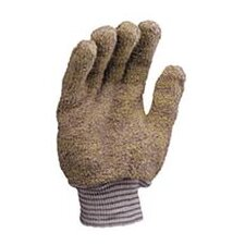 Large Multi-Colored Jomac® Medium Weight Terry Cloth And Para-aramid synthetic fiber® Unlined Ambidextrous Heat Resistant Gloves With Knit Wrist