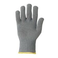 Large Gray Whizard® Liner II Spectra® Fiber, Fiberglass And Stainless Steel Ambidextrous Cut Resistant Gloves