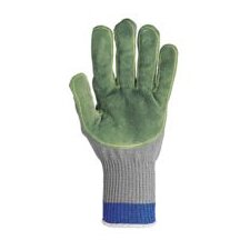 Small Silver Whizard® Talon® MasterGrip® Left Hand Cut Resistant Gloves With Leather Palm