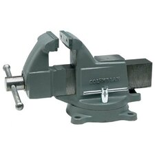 Columbian® Machinist's Vises - 505m3 machinist vise w/stationary base  colum