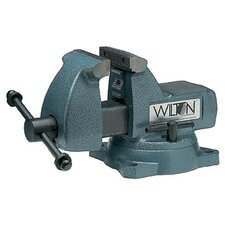"Wilton Mechanics' Vises - 748a  740 series mech. vise -swivel base 8"" jaw"