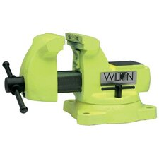 Wilton's High Visibility Safety Vises - 1560 mechanics vise safety yellow