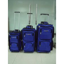 Varsity 3 Piece Wheeled Travel Duffle Set
