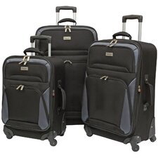 "Brentwood 28"" 3 Piece Spinner Suitcase Set"