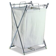 Folding Hamper with Pull-Out Bag