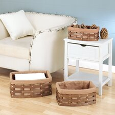 Havana Curved Baskets (Set of 3)