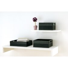 Onyx DVD Holder in Black