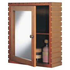 """Spa 16.5"""" x 19.63"""" Surface Mounted Medicine Cabinet"""