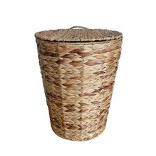 Organize It All Water Hyacinth Hamper Without Liner