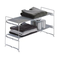 Organize It All Stackable Shelf Shoe Rack