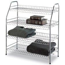 4 Tier Storage Shelf (Set of 3)