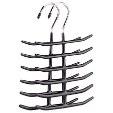 6 Tier Tie and Belt Valet (Set of 2)