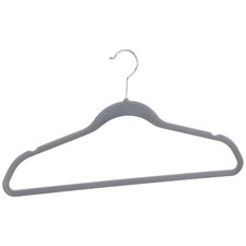 Velvet Shirt and Slack Hanger (Set of 10)