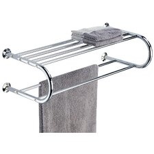 Shelf with Towel Rack