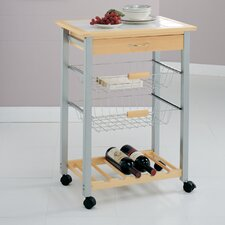 Kitchen Cart with Baskets