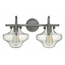 Congress 2 Light Bath Vanity Light