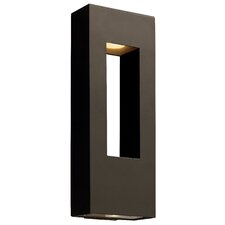 Atlantis Outdoor ADA Wall Lantern in Bronze